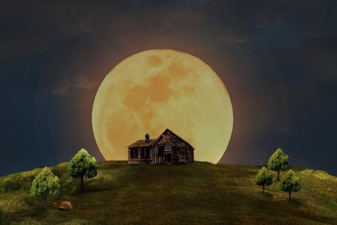 추석엔 보름달이 뜬다. 쟁반같이 둥근 달은 생리주기에 영향을 미치는 것으로 알려져 있다. 그러나 수면에 영향을 미친다는 속설은 여전히 증명되지 않고 논란이 되고 있다. - Pixabay 제공